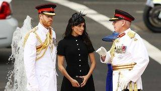 Meghan Markle and Prince Harry Look Regal on Day 5 of Australian Royal Tour