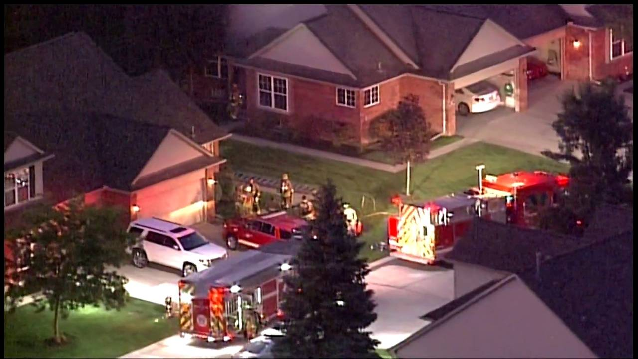 Sterling Heights house fire Victory Circle