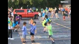 New York hopscotchers try to set world record