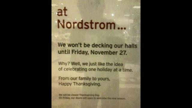 nordstrom vows to hold off on decorating for christmas