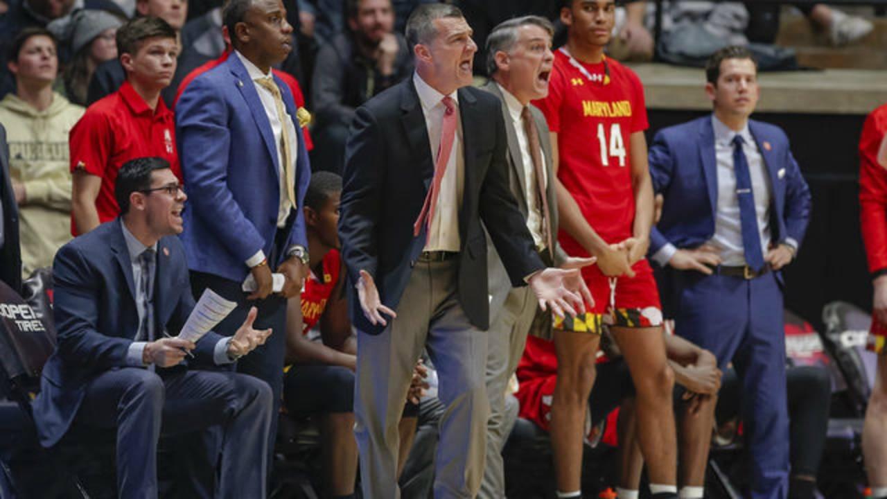 Mark Turgeon Maryland basketball 2018
