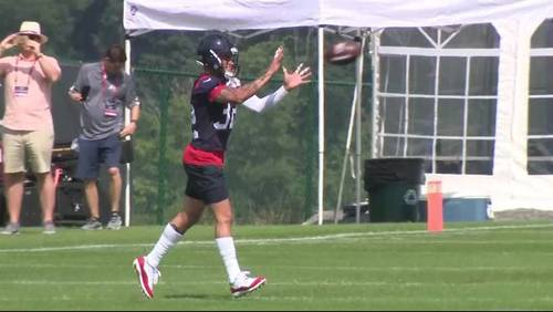 Day 2: Texans increase intensity at training camp