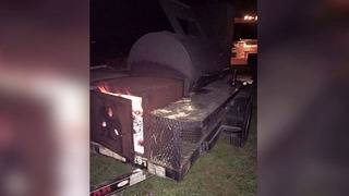 Thieves take valued BBQ pit used for fundraising