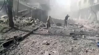 Airstrikes pound Eastern Ghouta despite ceasefire, doctor says