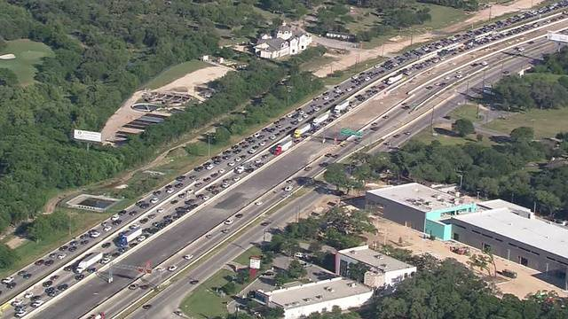 txdot hopes i 10 lane closed for pavement failure will reopen