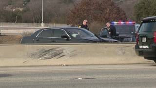 Carjacking suspect leads authorities on chase, crashes on NE Side
