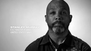 U.S. Navy E-6/Master at Arms Stanley Murray shares his story