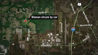 Woman struck, killed by vehicle on Jones Road