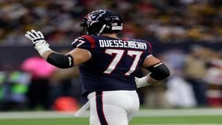 Cancer survivor Quessenberry makes pro debut for Texans