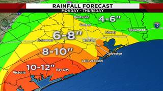 What we know about heavy downpours expected over next several days