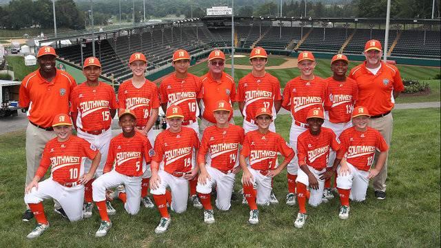 Lufkin Texas Southwest team Little League World Series