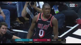 Richardson leads Heat past Hornets