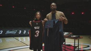 Wade honored for on and off-court heroics in new commercials
