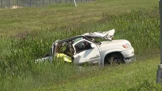 1 killed, 4 others injured in crash off Florida's Turnpike in Doral