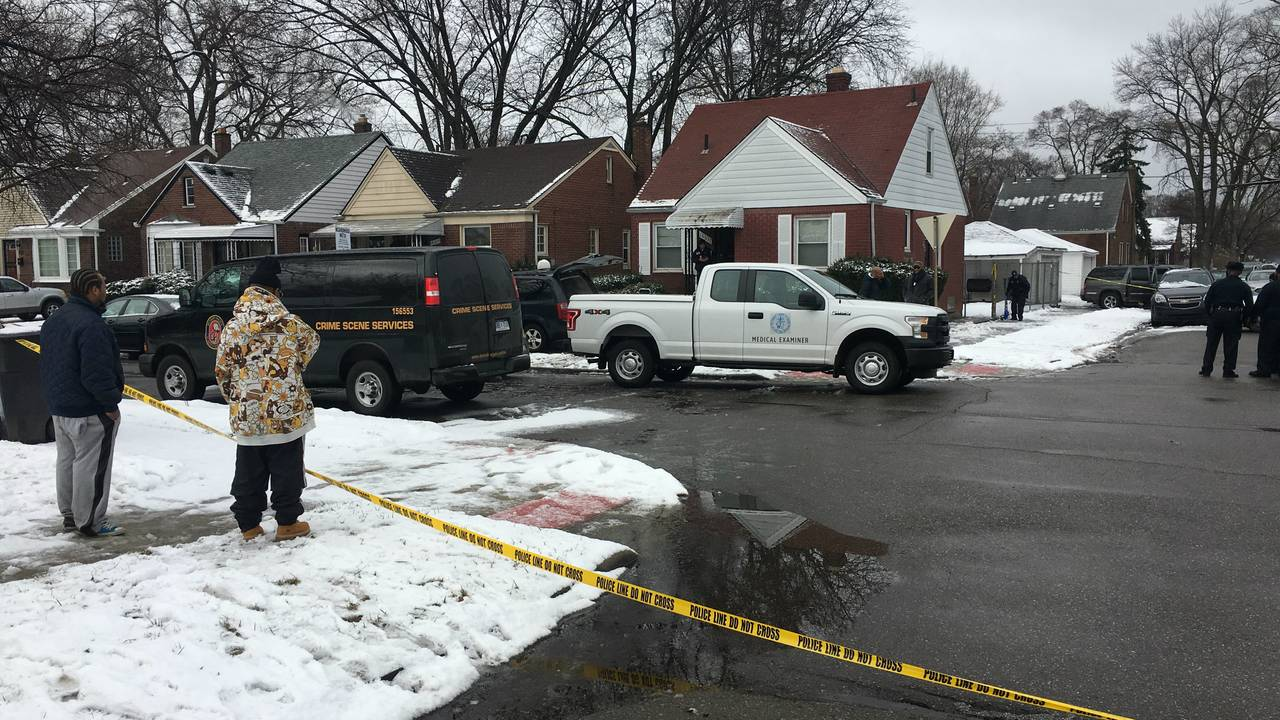 3 family members shot to death on Detroit's west side