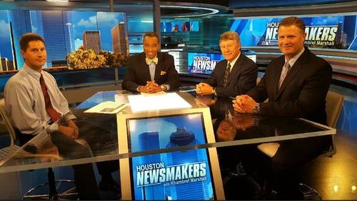 Houston Newsmakers for July 15: Flood relief funds are on way, expressing Harvey through art