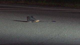 Pedestrian dies after being hit by 2 vehicles that left scene