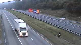 Crash causes delays on I-81 South in Roanoke County