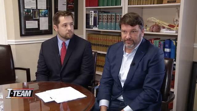Attorneys Kirby Johnson and John Phillips