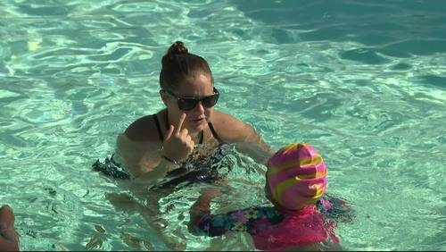 Thousands take advantage of free swim safety event across Houston area