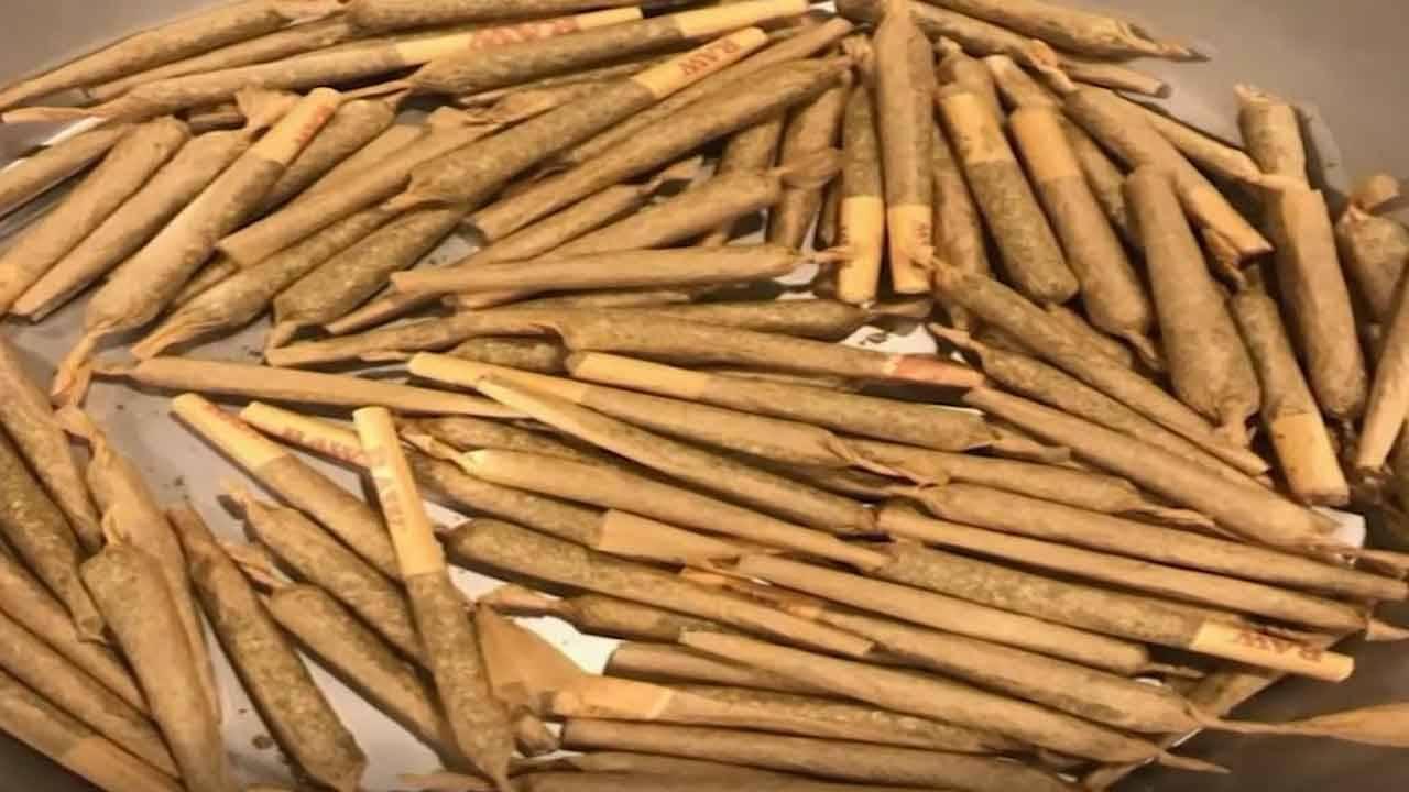 Post-prom party marijuana joints