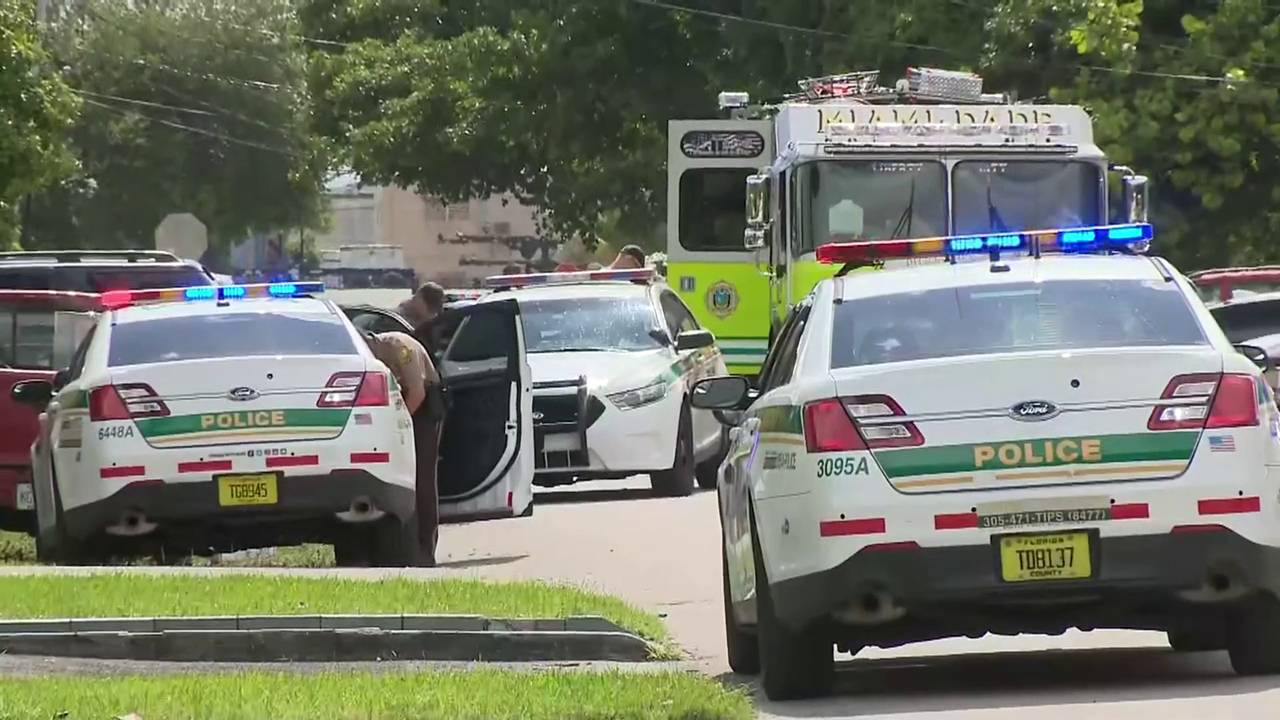 Miami-Dade Fire chase