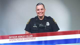Officer Ashley Eller of the Apopka Police Department