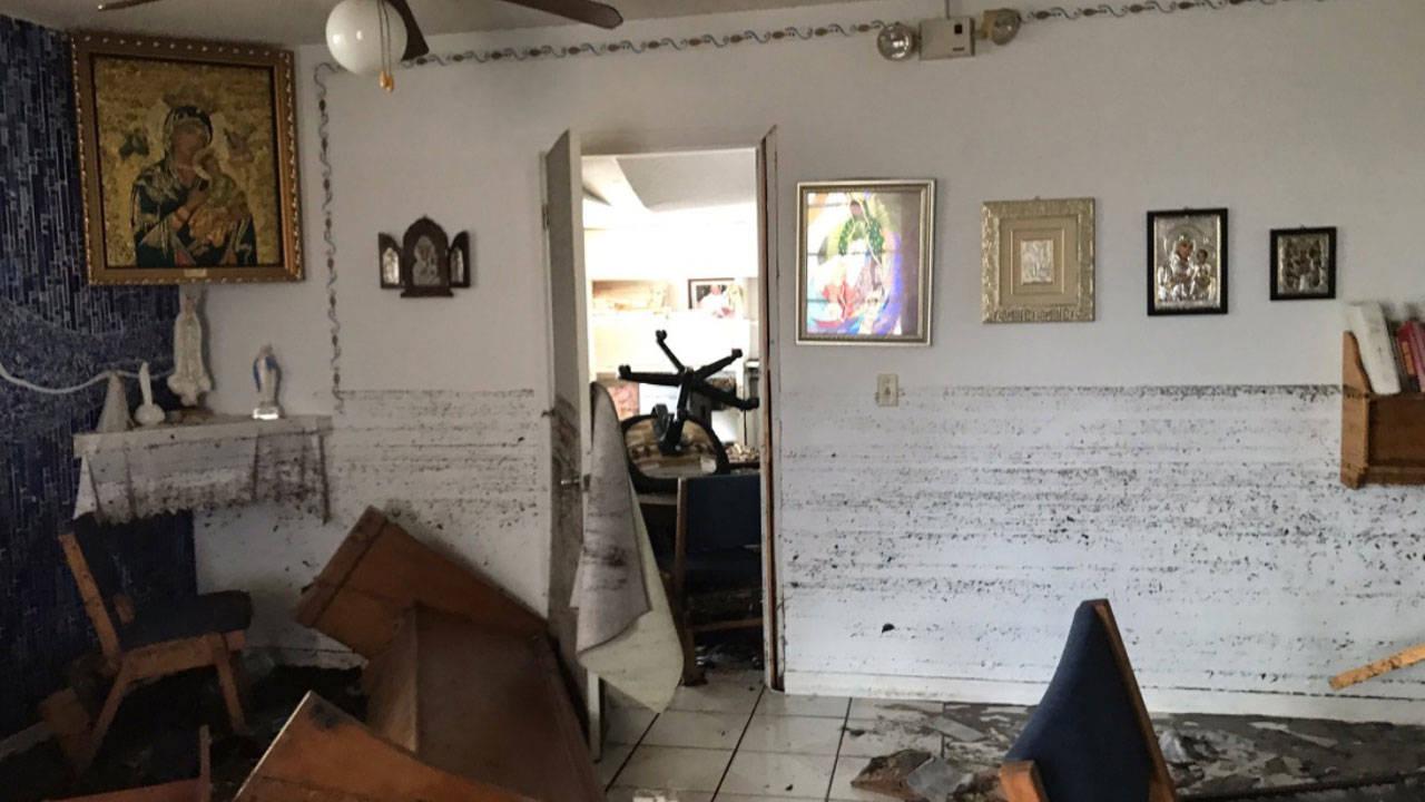 BIG PINE KEY IRMA CHURCH DAMAGE