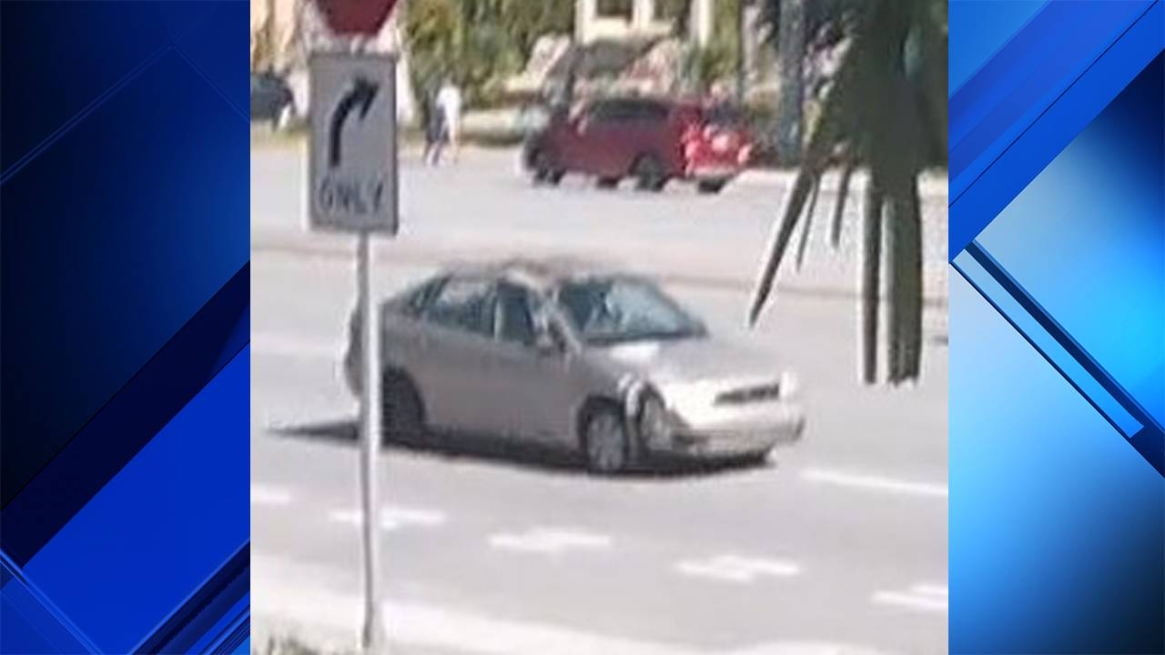 Ford Focus involved in hit-and-run crash