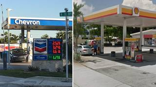 Skimmers found on pumps at multiple Hollywood gas stations