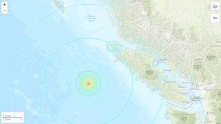 3 strong earthquakes strike off British Columbia