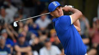 c8d5be897 Brooks Koepka charges clear as Tiger Woods misses cut at US PGA