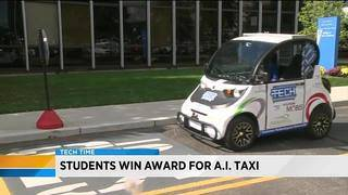 Students win award for A.I taxi