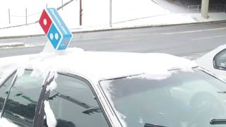 Domino's delivery staying busy during winter weather