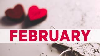 February birthday photos
