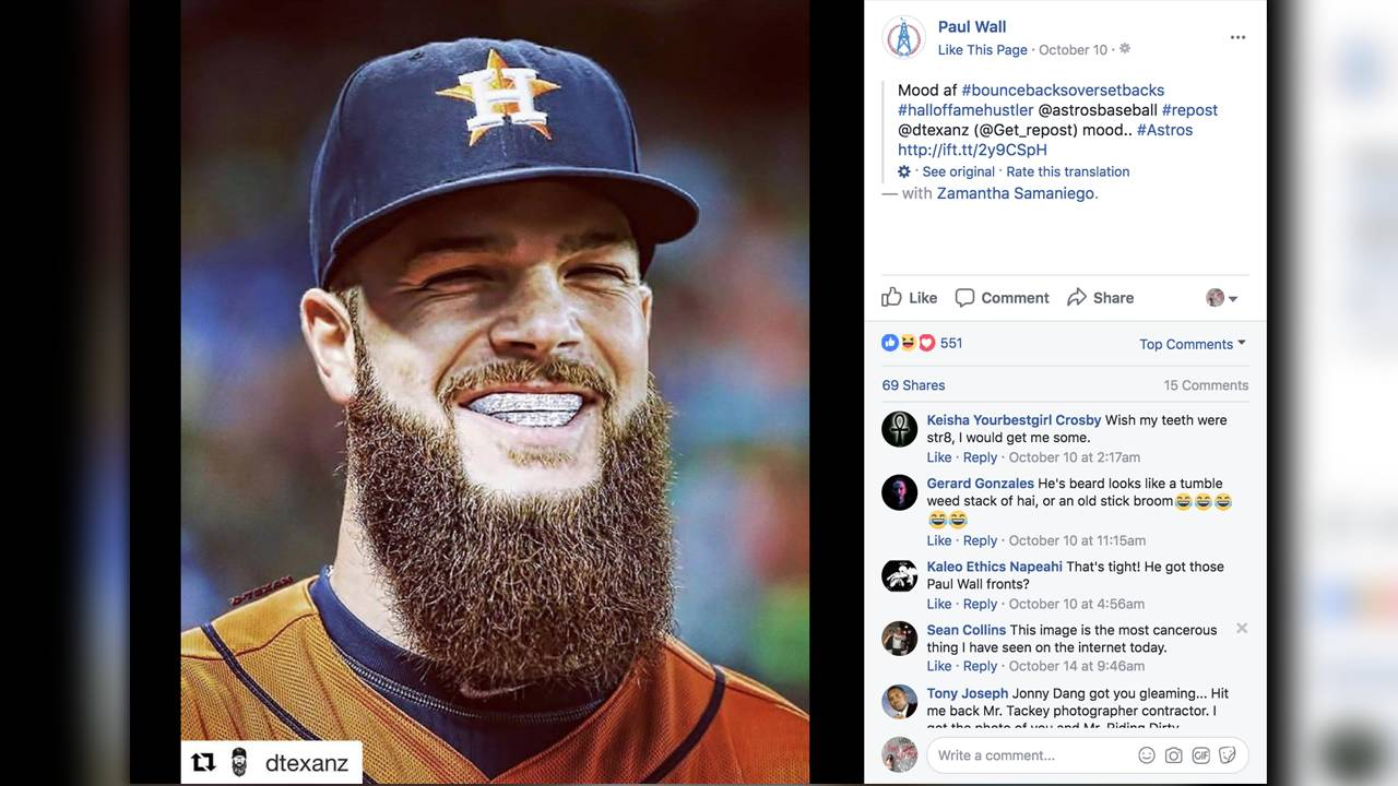 World Series Grillz Rapper Offers Free Grillz To Astros