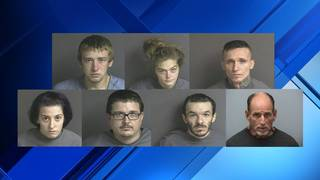 7 charged after Franklin County break-ins