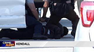Man in stolen white Lexus arrested in Kendall
