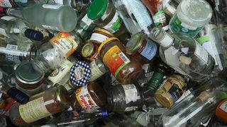 Glass no longer recyclable in Amherst County