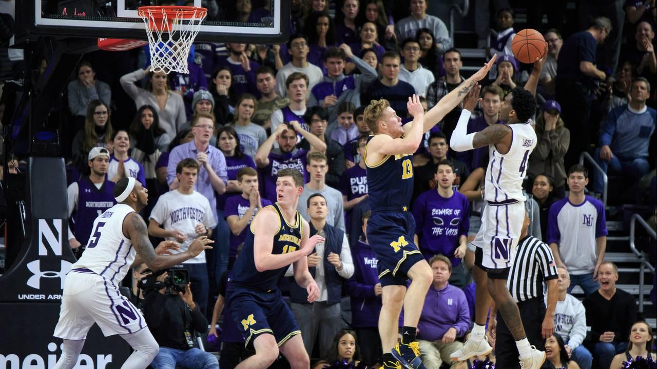 Michigan basketball vs Northwestern 2018