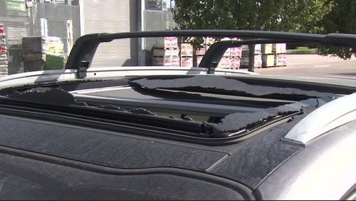 Nissan owner warns drivers of 'spontaneous sunroof breakage' after startling incident