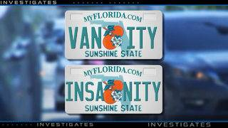 How Florida weeds out questionable personalized license plates