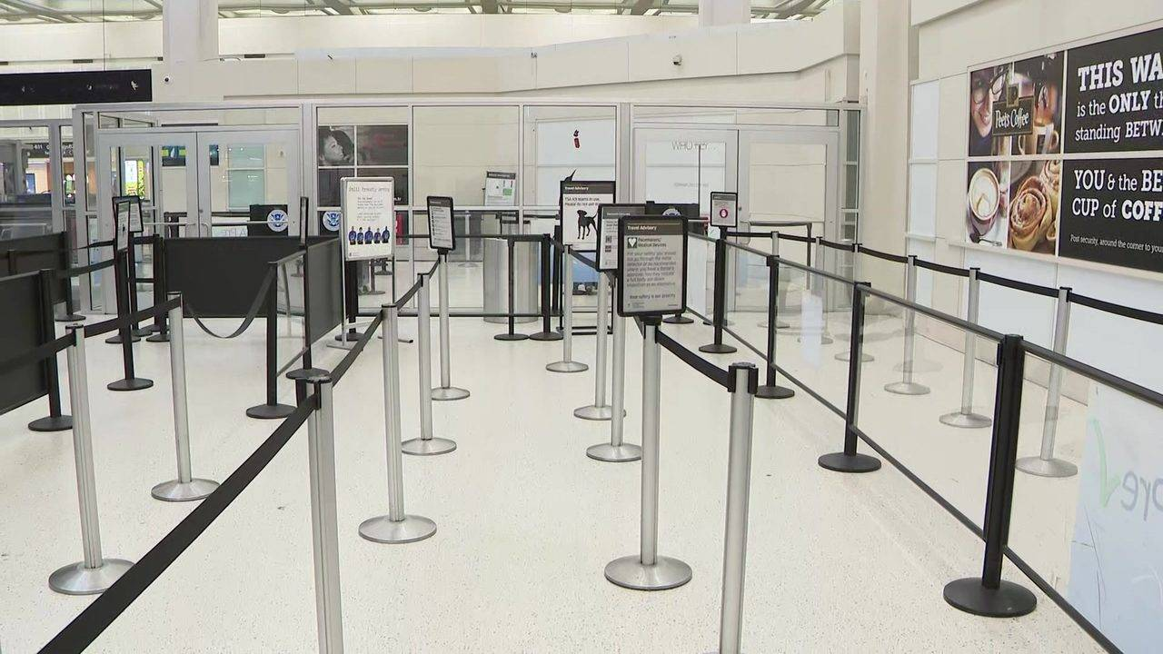 Bush Airport\'s Terminal B checkpoint to reopen Wednesday