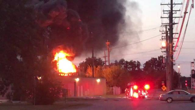 Plymouth substation fire