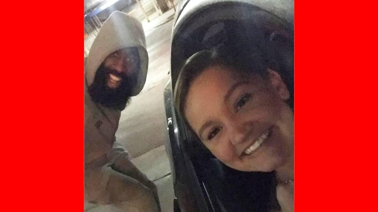 02c77d2979a Was it the beard  Houston Rockets  James Harden spotted on street