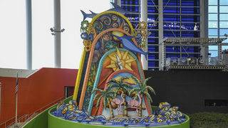 Marlins receive permission to give home run sculpture the boot