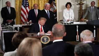 Trump says US will establish Space Force, signs space traffic management&hellip&#x3b;