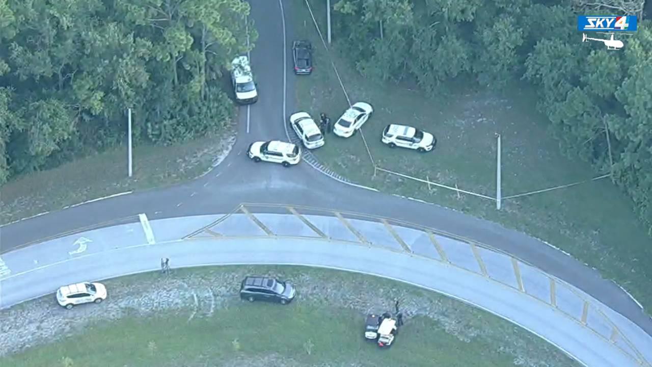 07-16 Sky 4 over Beach Boulevard death investigation scene
