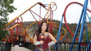 Slideshow: Check out the new Wonder Woman Golden Lasso Coaster at Six&hellip&#x3b;