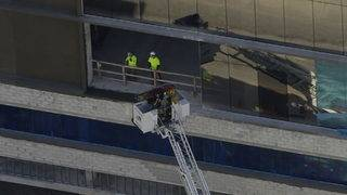 Worker falls off scaffolding at construction site in Fort Lauderdale